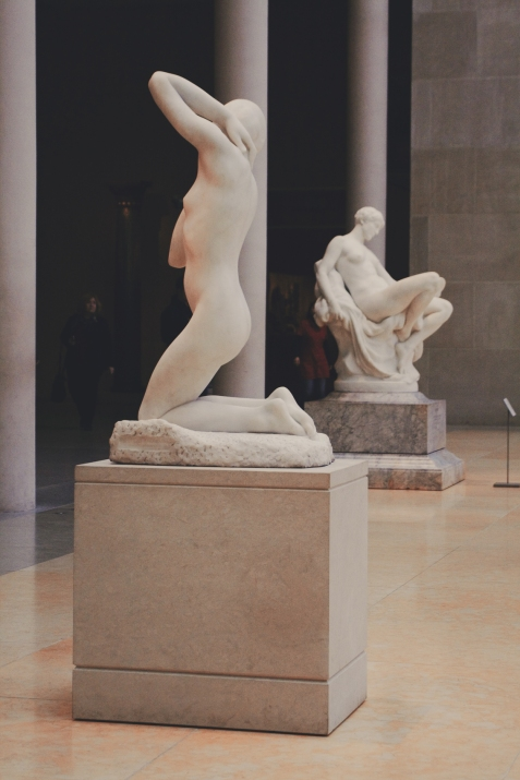 Statue al Metropolitan Museum