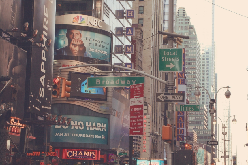 Times Square e Broadway