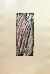 Fili d'erba su incisione vinilico su incisione cm 35 x 50 € 150